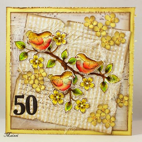 50-vuotis kortti