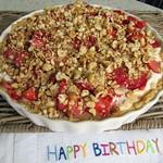 Erdbeer-Haselnuss-Tarte
