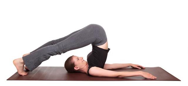Yoga Poses Plow Pose Position Halasana Flickr
