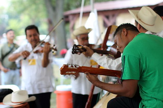 Folklife Festival Mexican Musicians