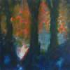 orange glow trees