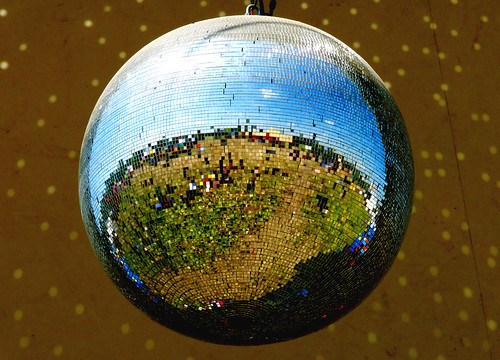 Glastonbury mirror ball