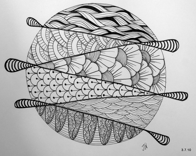 zentangle - circles & mandalas - a gallery on Flickr