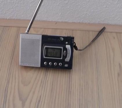 Alarmclock/LW radio