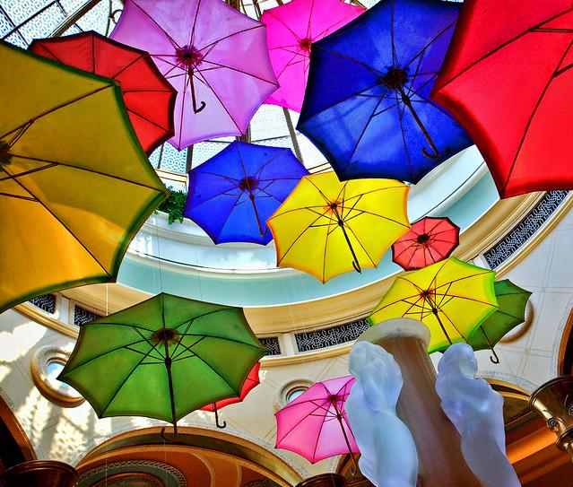 The Palazzo Umbrellas