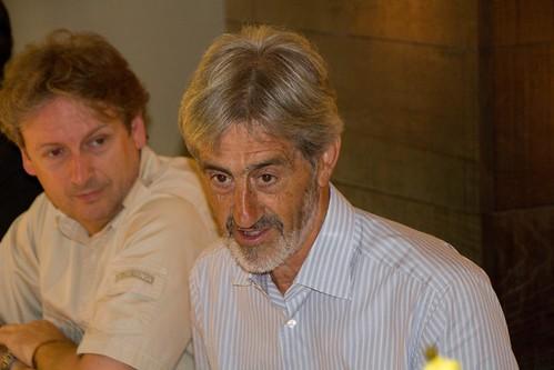 Pablo Aretxabala y Koldo Saratxaga