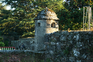 Fortaleza de El Castro görüntü. castro fortaleza fortress vigo garita bartizan