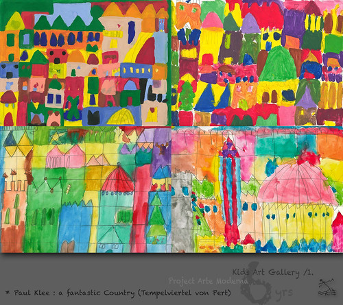 "6 yrs) _1* Paul Klee : ""a fantastic Country""  /Tempelviertel von Pert by SeRGioSVoX"