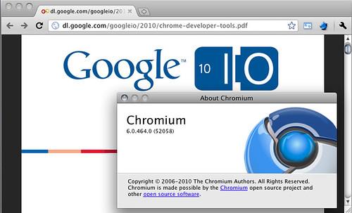Chromium: ora il plugin PDF di Chrome funziona