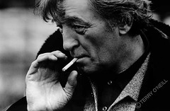 Robert Mitchum, by Terry O'Neill