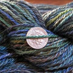 Sea Scape yarn, close up