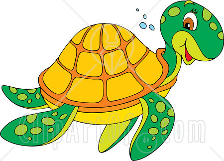 32320-Clipart-Illustration-Of-A-Friendly-Green-Sea-Turtle ...