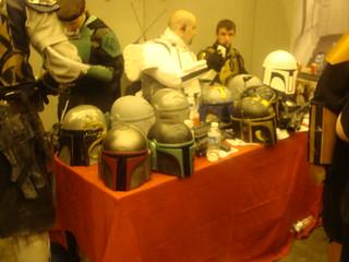 Custom Merc Mando Helmets