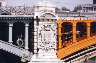 Pont de l'Île-Saint-Denis en juin 1985