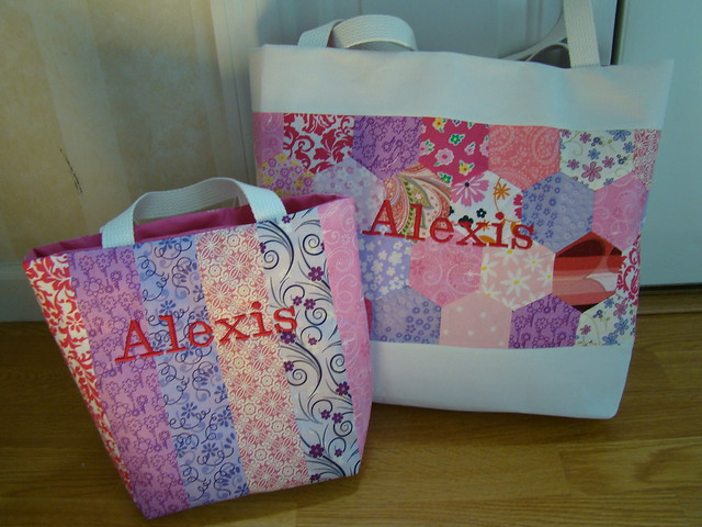 Embroidery - Embroidered Canvas Tote Bags - Custom Embroidered