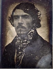 Daguerreotype of Delacroix by his nephew Leon Riesener 1842