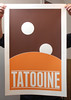 Tatooine -Screen Print by justinvg