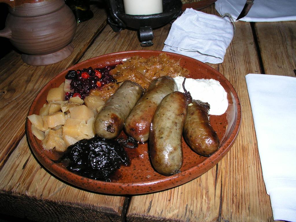 Medieval Food Tallinn Estonia A Photo On Flickriver