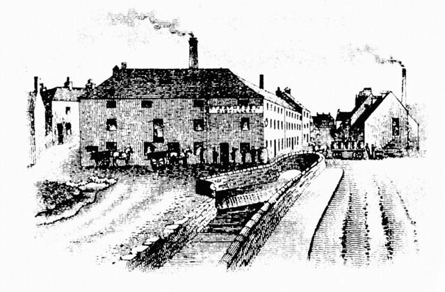Stratheden Distillery, Auchtermuchty.