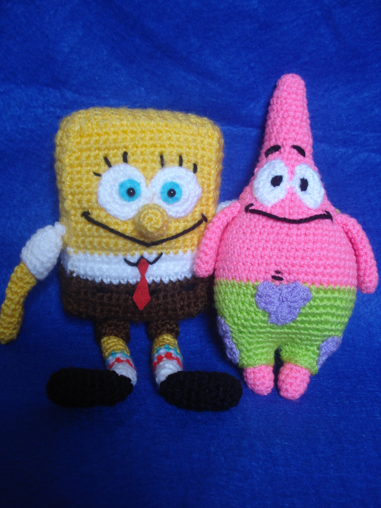 Patrick Star Amigurumi Pattern : Amigurumi SpongeBob Squarepants & Patrick Star Flickr ...