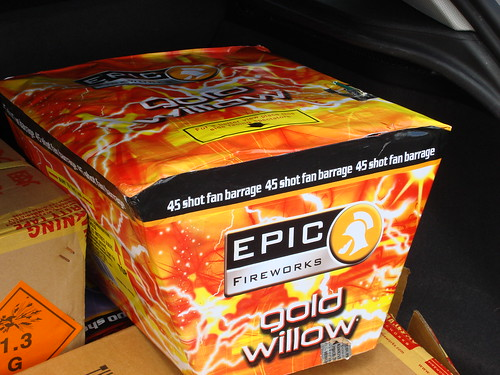 Epic Fireworks - Gold Willow