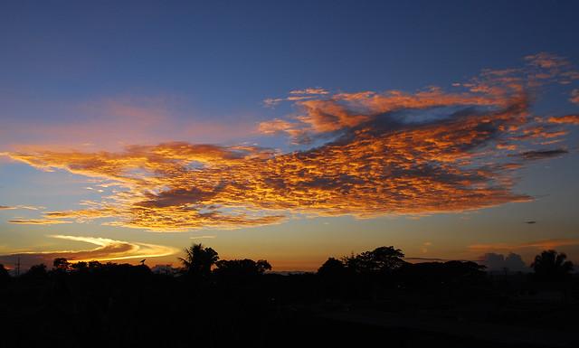 Imagen de un Atardecer sobre la Tebaida, Quindio