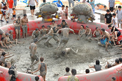 BOSS gets down and dirty at Boryeong Mud Festival