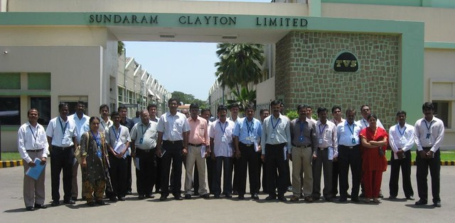 sundaram clayton case Companies, the sundaram-clayton limited and the tvs motor company, had been directed by the founder's son, ts srinivasan highly regarded in india and committed to service, these companies.