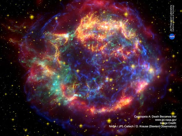 Cassiopeia A - Starter Image 4 NASA RP