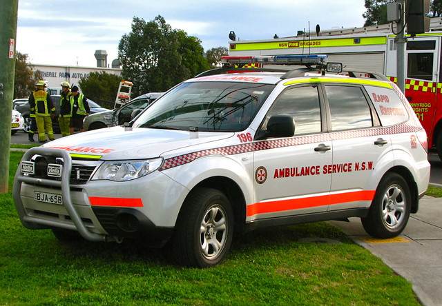 Chevy Awd Cars >> NSW Ambulance Service Subaru Forester AWD 'Rapid Response'… | Flickr - Photo Sharing!