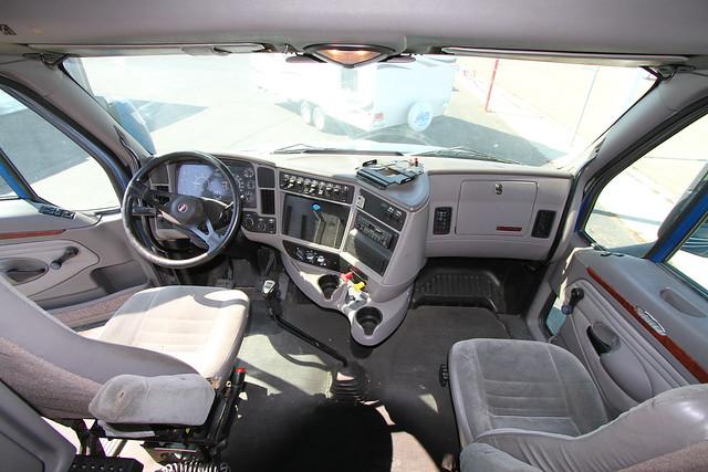 Kenworth Semi Tractor Truck T2000 Interior Flickr Photo Sharing