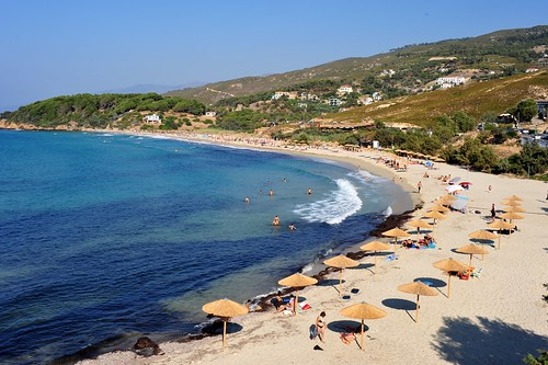 Messakti beach, Armenistis, Ikaria