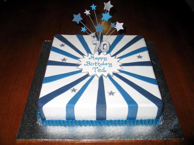70Th Birthday Cakes for Men http://www.flickr.com/photos/suescakessolihull/galleries/72157626172925176