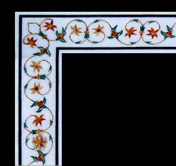 Marble Inlay Borders : Marble inlay border design flickr photo sharing