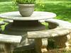 Manhole Picnic Table