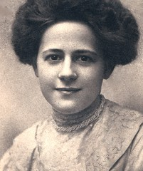 Lillian Marie Fox, My Paternal Grandmother, on Her 18th birthday, February 1909
