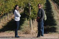 Chatting with our Guide at NQN Winery - Patagonia, Argentina