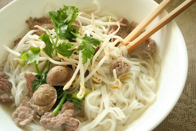 Phở - Vietnamese Beef Noodle Soup