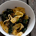 egg noodles with caramelised onion & cavalo nero