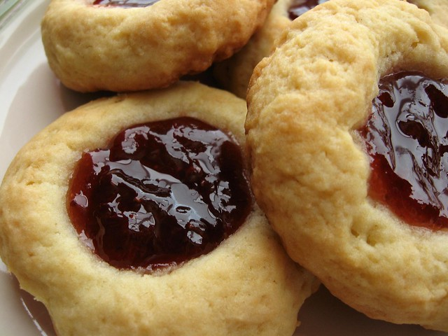 Jam Thumbprint Cookies | Flickr - Photo Sharing!