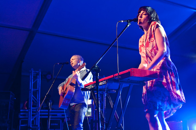 Damon & Naomi @ OFF Festival