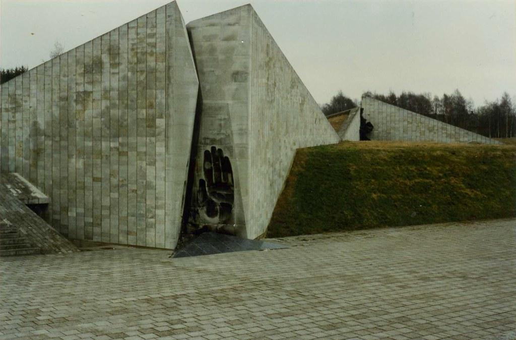 Soviet War Memorial, Marjamäe  ,Tallinn, Estonia. May 1996