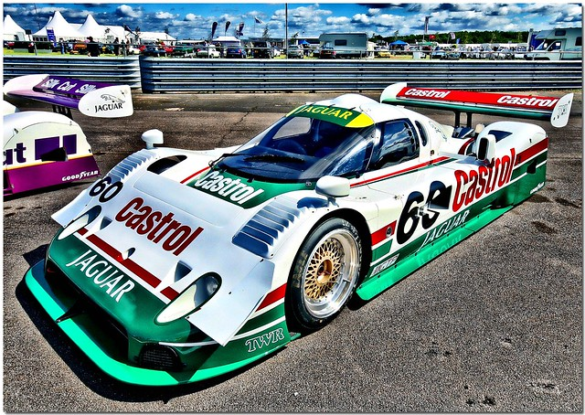 TWR Jaguar XJR-10   Race cars, Sports car racing, Racing ...