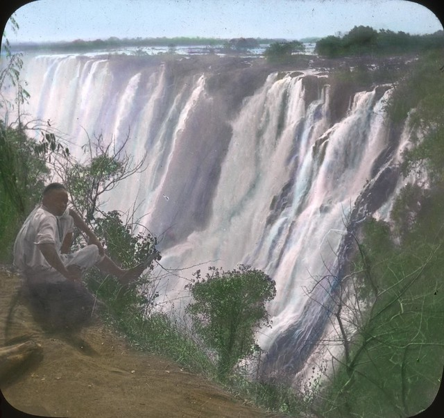 Victoria Falls on the Zambezi River, Rhodesia