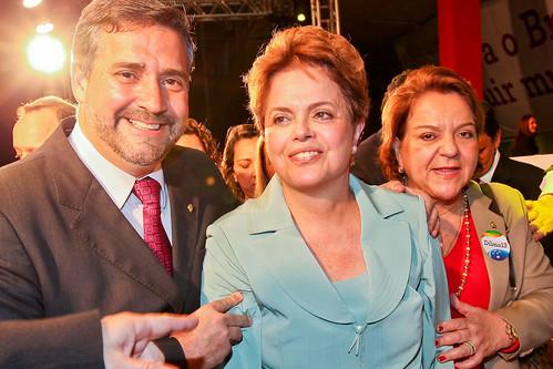 Paulo Pimenta e Dilma