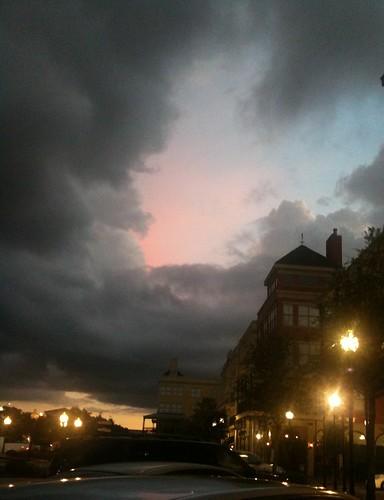 sunset sky nature clouds outdoors louisiana lafayette 3gs iphone kimthibodeaux kimdeverthibodeaux kimincajuncountry