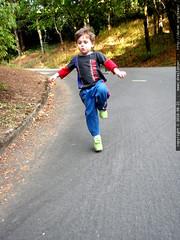 running to dinner   P8210011