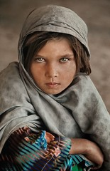 Young girl, Ghazni, Afghanistan, 1990, by Steve McCurry