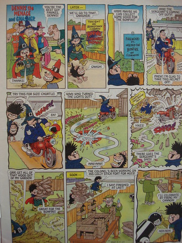 Beano Guy Fawkes issue 2001