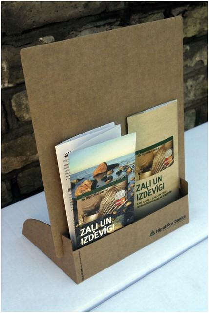 Foldlife cardboard brochure holder flickr photo sharing for Cardboard brochure holder